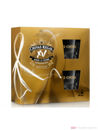 Chivas Regal XV 15 Years + 2 Gläser Blended Scotch Whisky 0,7l