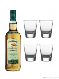 The Tyrconnell Single Malt Irish Whiskey 0,7l + 4 Whisky Tumbler