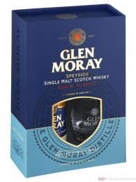 Glen Moray Elgin Classic Peated mit Glas
