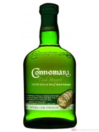 Connemara Cask Strenght Single Malt Irish Whiskey 0,7l
