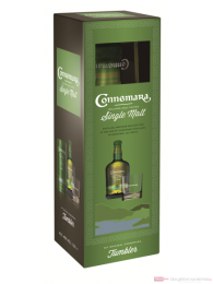 Connemara mit Glas Irish Whiskey 0,7l