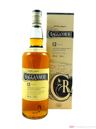 Cragganmore 12 Years Speyside Single Malt Scotch Whisky 1,0l