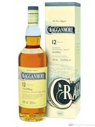 Cragganmore 12 Years Speyside Single Malt Scotch Whisky 0,2l