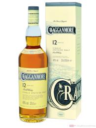 Cragganmore 12 Years Speyside Single Malt Scotch Whisky 0,2l