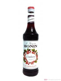 Monin Cranberry Sirup 0,7l