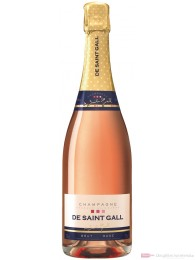 De Saint Gall Brut Rosé Champagner 12% 0,75l Flasche
