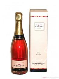De Saint Gall Rosé Champagner in Geschenkverpackung 0,75l