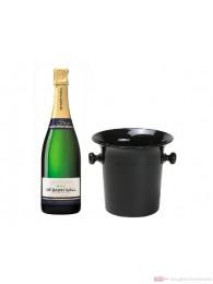 De Saint Gall Champagner Blanc de Blanc in Champagner Kübel 0,75l