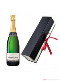 De Saint Gall Champagner Blanc de Blanc Geschenkfaltschachtel 0,75 l.