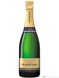 De Saint Gall Champagner Premier Cru Brut Millesime 2004 Blanc de Blanc 12% 0,75l Flasche