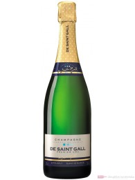 De Saint Gall Champagner Extra Brut Blanc de Blanc 0,75l