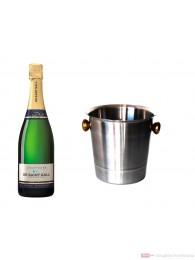 De Saint Gall Champagner Extra Brut im Champagner Kühler 0,75l