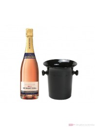 De Saint Gall Brut Rosé Champagner im Champagner Kübel 0,75l