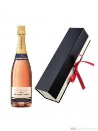 De Saint Gall Brut Rosé Champagner in Geschenkfaltschachtel 0,75l