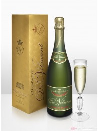 De Vilmont Brut Blanc de Blancs Champagner 12 % 0,75 l Flasche