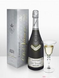 De Vilmont Brut Millésimé Cuvée Prestige 2004 Champagner 12 % 0,75 l Flasche