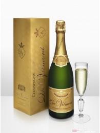 De Vilmont Brut Premier Cru Grande Réserve Champagner 12 % 0,75 l Flasche