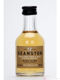 Deanston 12 Years Highland Single Malt Scotch Whisky 0,05l