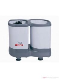 DELFIN TS 1100 Gläserspülgerät mit Teleskop Nachspülvorrichtung 37,0 X 30,7 X 18,5cm
