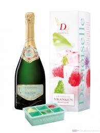 Vranken Demoiselle E.O. Sweet Champagner mit Eisbox in Geschenkpackung 0,75l