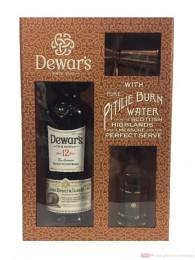 Dewar´s 12 Jahre mit Wasserflasche Blended Scotch Whisky 0,7l