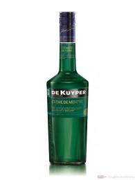 De Kuyper Creme de Menthe grün Likör 0,7l