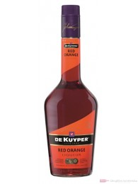 De Kuyper Red Orange Likör 0,7l