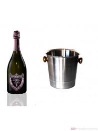 Dom Pérignon Rosé Vintage Champagner im Kühler 0,75l