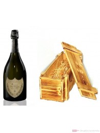 Dom Perignon Vintage 2010 Champagner in Holzkiste geflammt 0,75l