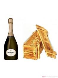 Dom Ruinart Champagner 2006 in Holzkiste geflammt 0,75l