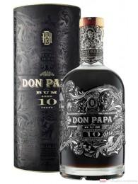 Don Papa 10 Years mit Geschenkverpackung Rum 0,7l