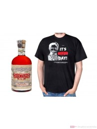 Don Papa Small Batch Rum + T-Shirt M 0,7l