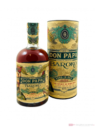 Don Papa Baroko Rum in Geschenkverpackung 0,7l
