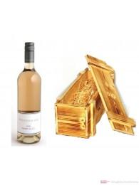 Dreissigacker Pinot und Co Qba Rosé Cuvèe trocken 2010 12,5% 0,75l Flasche in Holzkiste geflammt