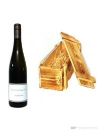Dreissigacker Riesling Weißwein Qba trocken 2012 0,75l Holzkiste