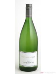Dreissigacker Weissburgunder Weißwein Qba trocken 2011 1,0l