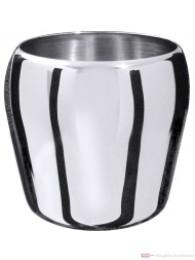 Contacto Eiseimer aus Edelstahl hochglänzend schwere Qualität ideal auch als Tischabfallbehälter