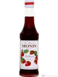 Monin Erdbeer Sirup 0,25l