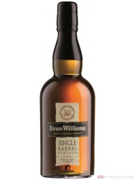 Evan Williams Single Barrel Kentucky Straight Bourbon Whiskey 0,7l