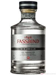 Fassbind Mirabelle Les Trouvailles Obstbrand 0,5 l