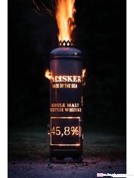 Talisker Whisky Feuerstelle mit Tür