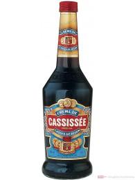 Cassissée Creme de Cassis Likör 16% 0,7l Liqueur Flasche