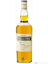 Cragganmore 12 years Speyside Single Malt Scotch Whisky 0,7l