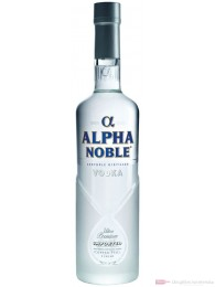 Alpha Noble Wodka 40% 0,7l Vodka Flasche