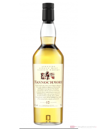 Mannochmore 12 Years Flora & Fauna Collection Single Malt Scotch Whisky 0,7l