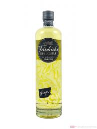 Friedrich's Gin Likör mit Ingwer 0,7l