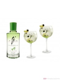 G-Vine Floraison Gin + Kelchgläser