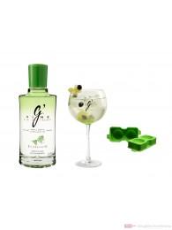 G-Vine Floraison Set Gin 0,7l Flasche + Glas Ice Sphere Modul
