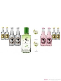 G-Vine Floraison Gin 0,7l Flasche Tonic Water Mix Pack