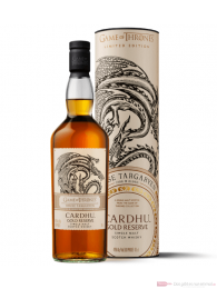 Game of Thrones House Targaryen Cardhu Gold Reserve Single Malt Scotch Whisky 0,7l